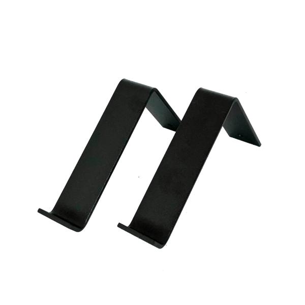 plankdragers l 15 cm mat zwart